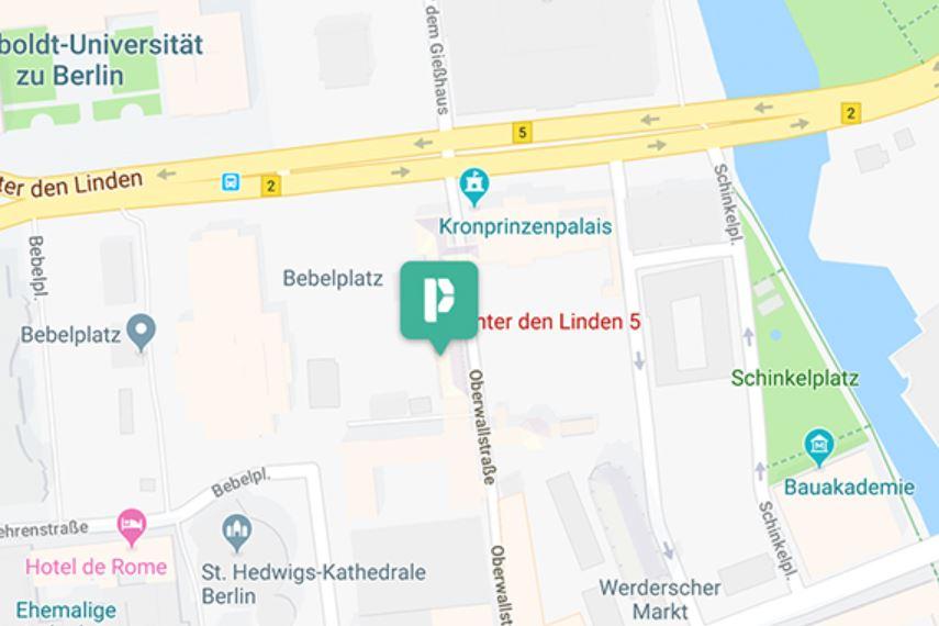 Db Karte Berlin.Besuch Deutsche Bank